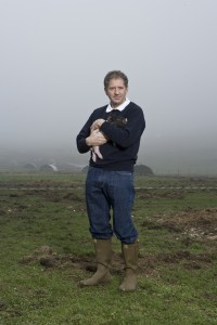 1979 F1 World Champion, Jody Scheckter, on his UK farm