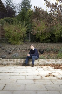 Adam Parr at his French home