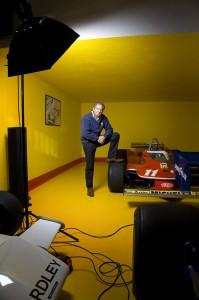 1979 F1 World Champion, Jody Scheckter, on his UK farm