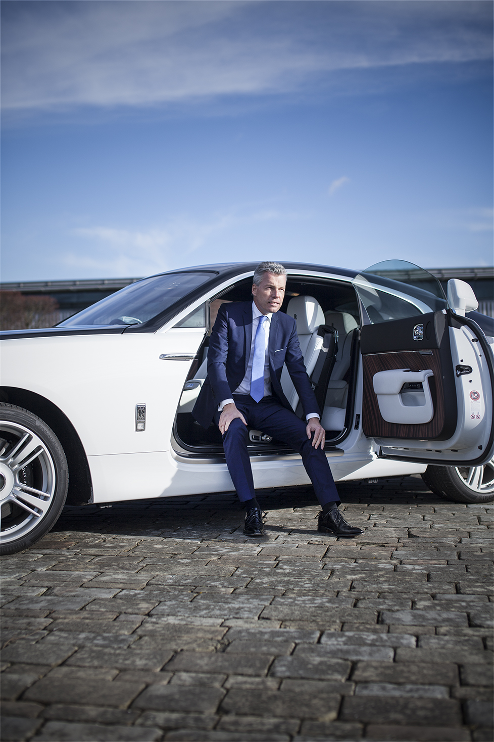 Torsten Mueller CEO of Rolls-Royce