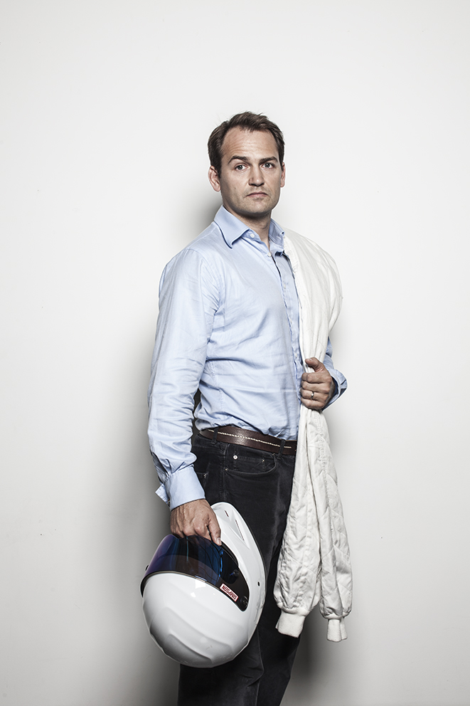 Ben Collins Racing driver AKA, Tv's Top Gear's 'The Stig'