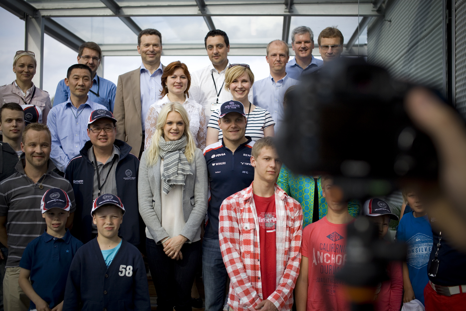 Valtteri Bottas, Finnish Formula One racing driver with the Williams F1 Team - Shot for F1 Racing