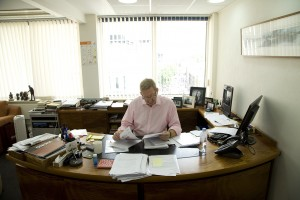 Len McCluskey, English trade unionist and General Secretary of the Unite Union.