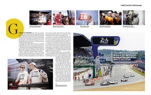 Pages from the Car Magazine feature
