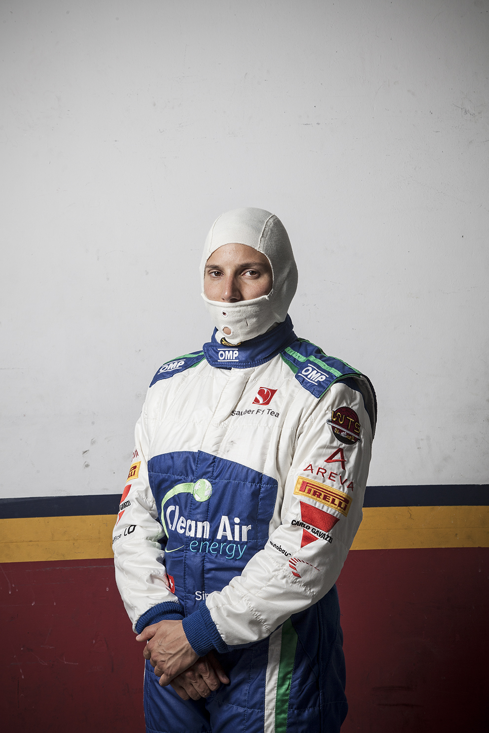 Female racing driver Simona di Silvestro testing in Spain with the Sauber Formula One Team
