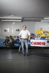Dickie Stanford - Retired Motor Racing mechanic and General Manager of Williams Heritage