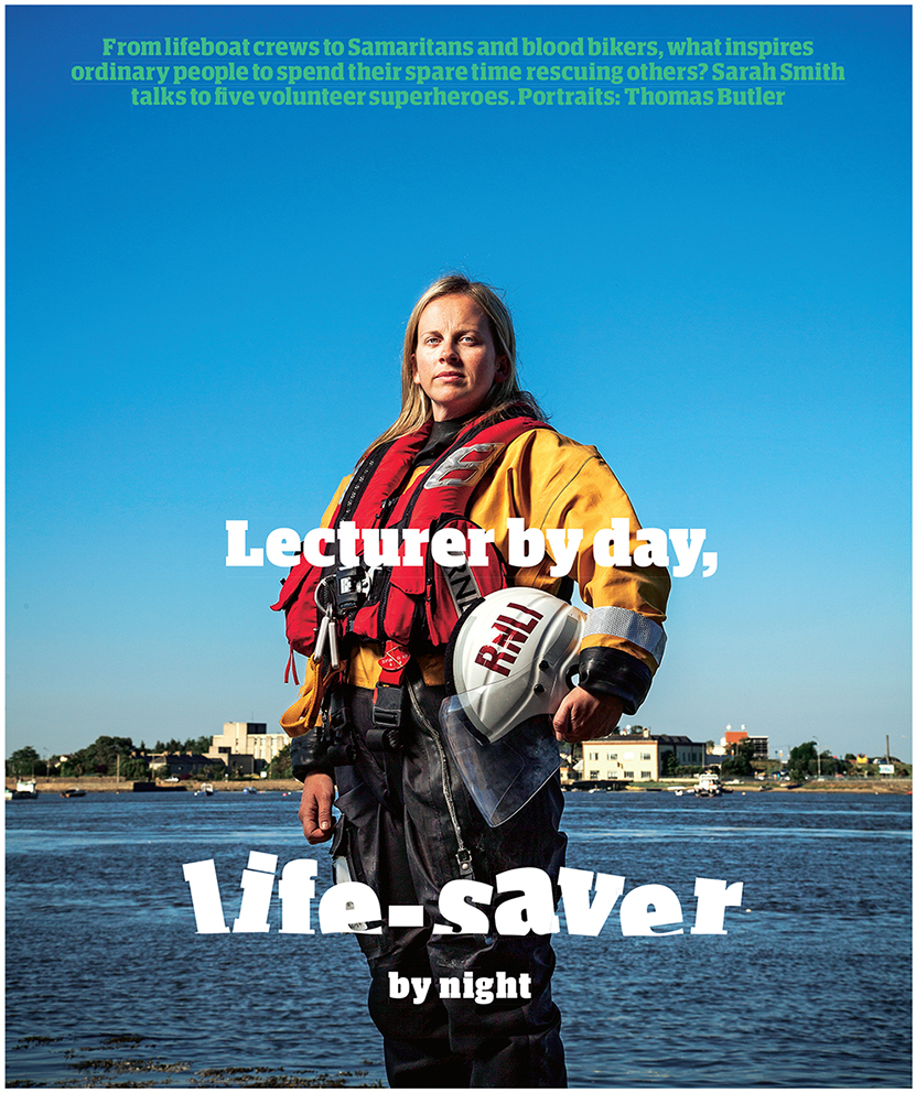 Lorraine Galvin - University Lecturer and Helm with Wexford Royal National Lifeboat Institution