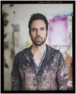 Contemporary artist and painter Antony Micallef