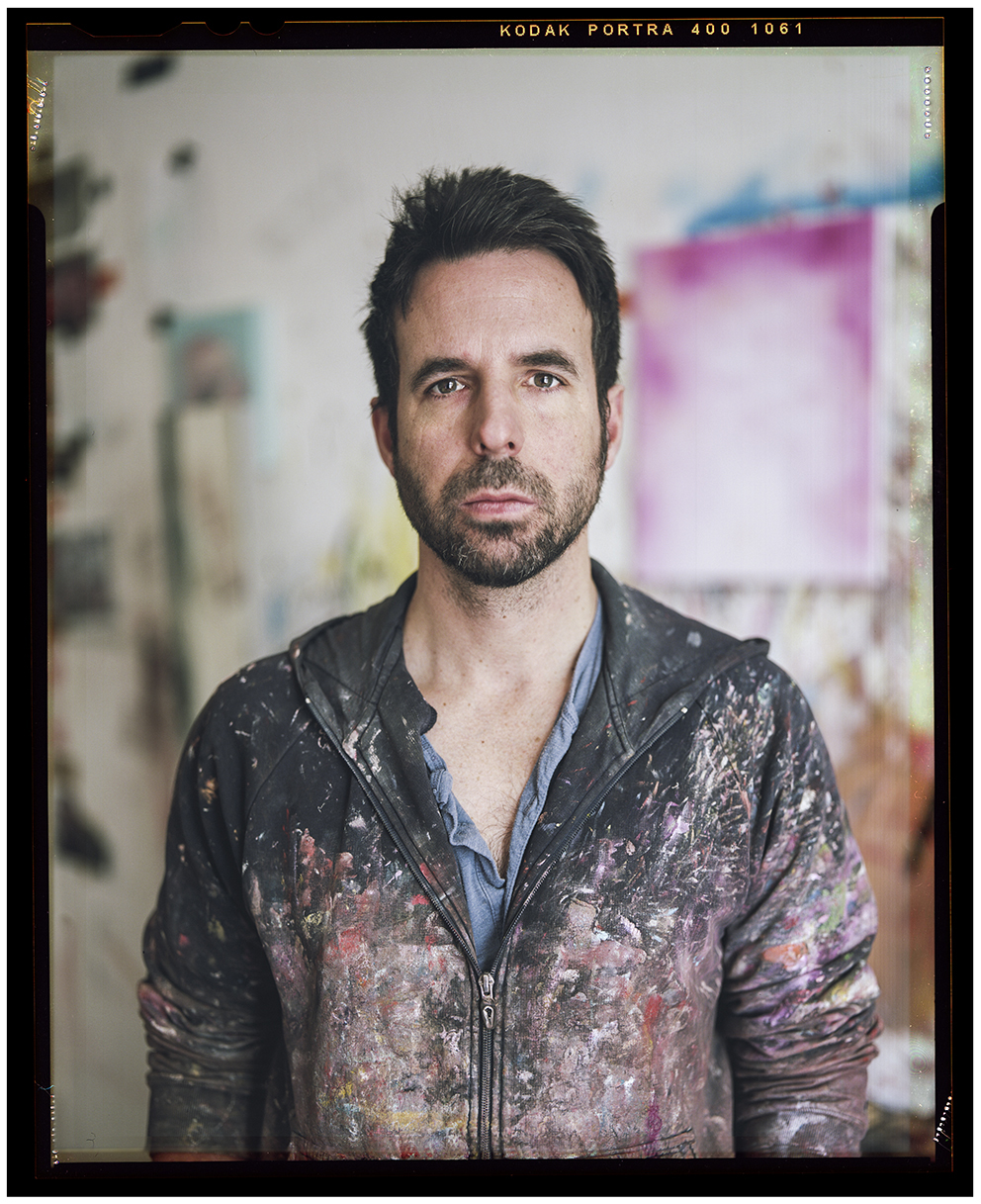 Contemporary artist and painter Antony Micallef