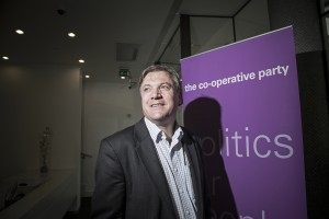 Shadow chancellor Ed Balls Co-operative Party Annual Conference 2014