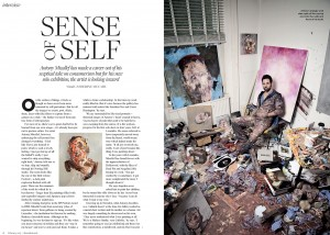 Antony Micallef featured in The Resident magazine