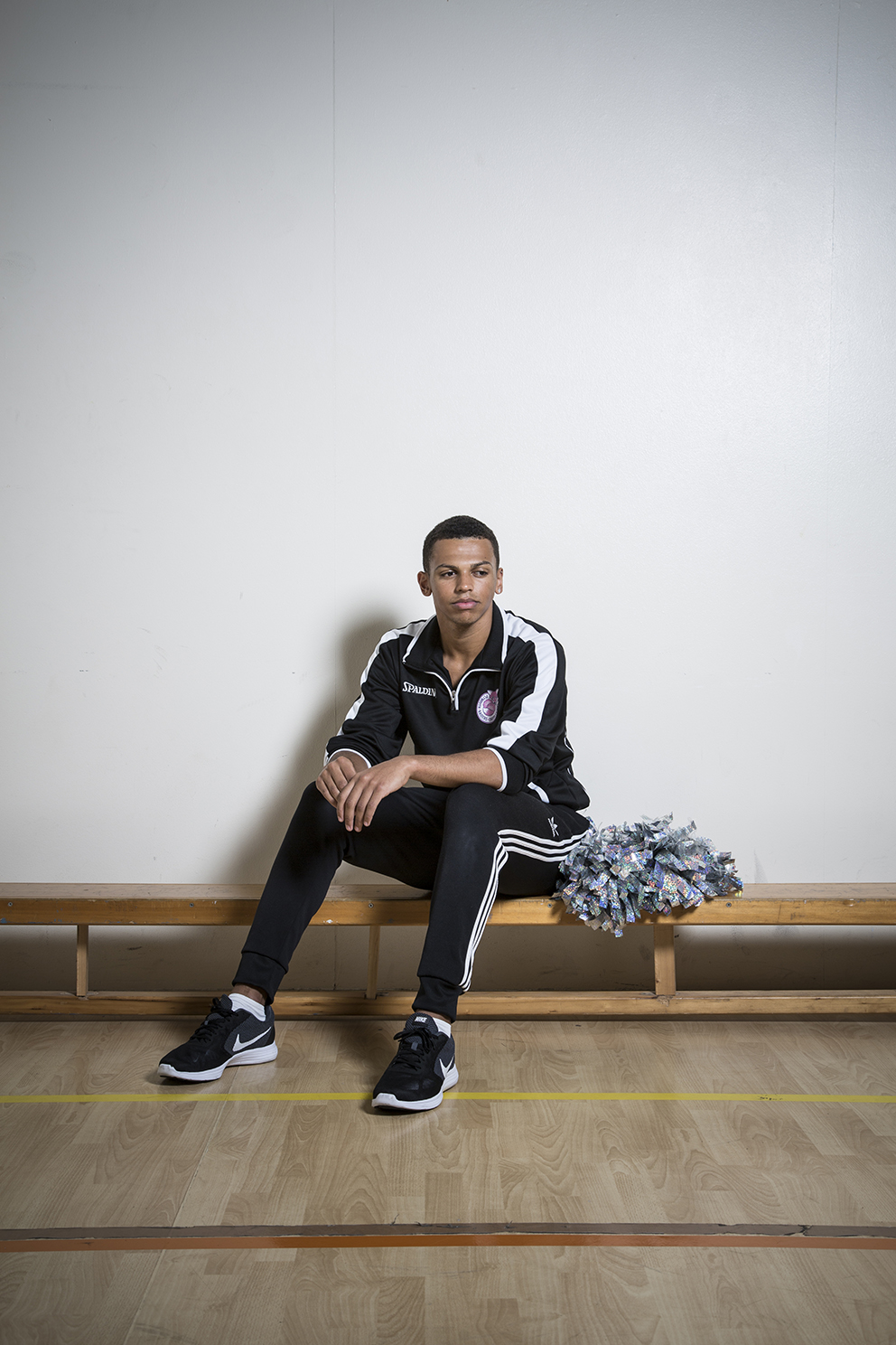 TERRELL LAWRENCE - Cheer Leader and fan of, the Plymouth Raiders
